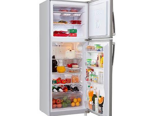 Heladera con Freezer Inverter 365lts Gris Plata Briket