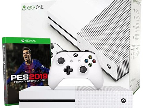 Consola Xbox One S 1Tb 234-00621 + Pes 2019 Microsoft