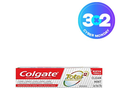 Colgate Total 12 Crema Dental Colgate Total 12 Clean Mint 50g