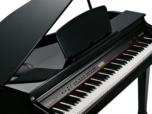 Piano digital 1/4 cola Kurzweil KAG100BP 88 teclas pesadas cuotas