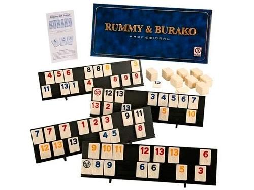 Juego de Mesa Rummy & Burako Profesional 1061