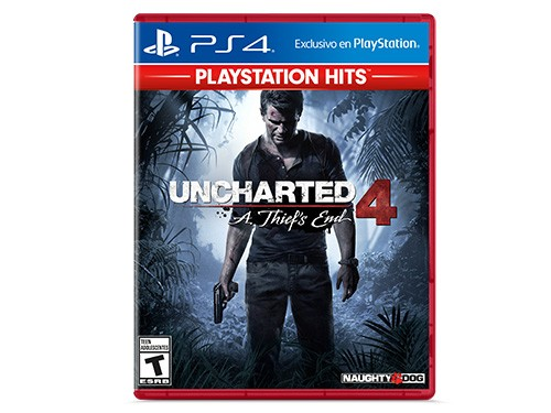 Juego Uncharted 4 A Thief's End Ps4  Fisico