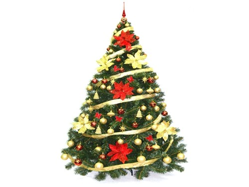 Árbol De Navidad Bariloche 1,80 Con KIT 72 Cybermonday Sheshu
