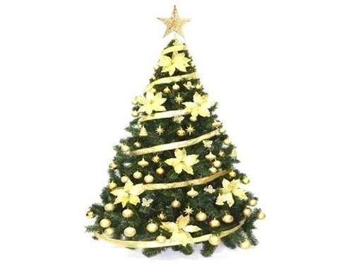 Árbol De Navidad Bariloche 2,10m. + Kit 88 pzas Cybermonday Sheshu