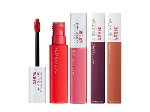 Set De Maquillaje Labiales Maybelline Matte Ink Best Sellers