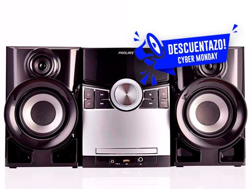 MINICOMPONENTE 3300W DVD, CD, USB, BLUETOOTH, MP3, PROLINE