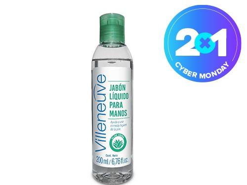 Jabón Liquido Villeneuve Antibacterial x 200 ml