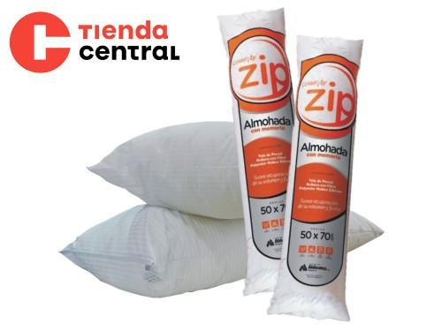 Almohada inteligente Zip comprimida. Combo x 2