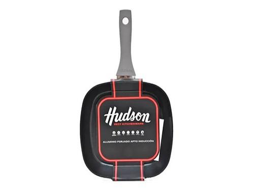 Bifera Grill Teflon Antiadherente Plancha 26cm Hudson 2mm !!