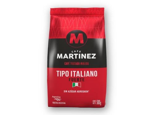30% OFF Café molido Tipo Italiano 500g CAFÉ MARTÍNEZ