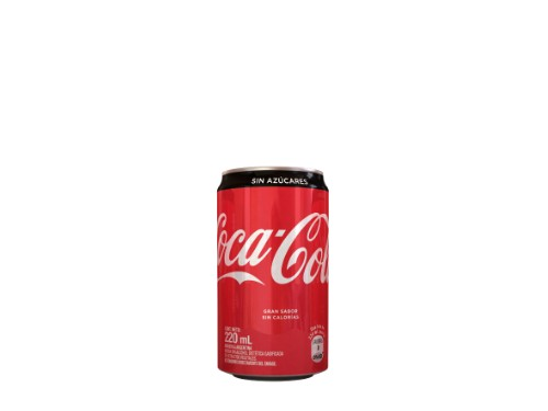 Coca-Cola Sin Azúcar 220 ml Pack x8