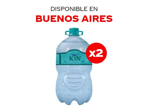 Kin Bidón 6 lts Pack x2