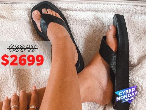 Sandalias de mujer Florida Negro Araquina