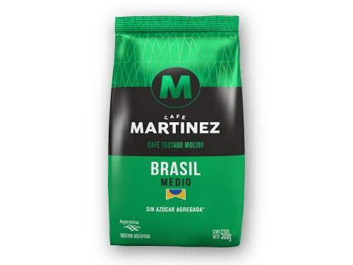 30% OFF Café molido Brasil 500g CAFÉ MARTÍNEZ