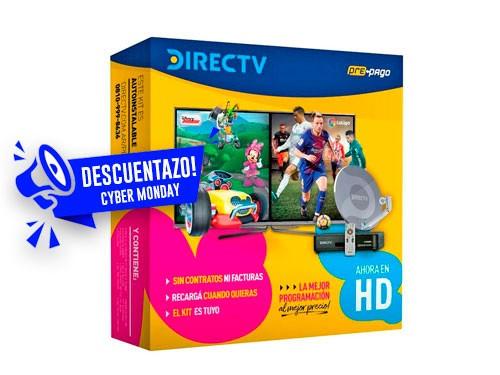 Pack Antena DirecTv TV satelital prepaga recargalo cuando quieras.