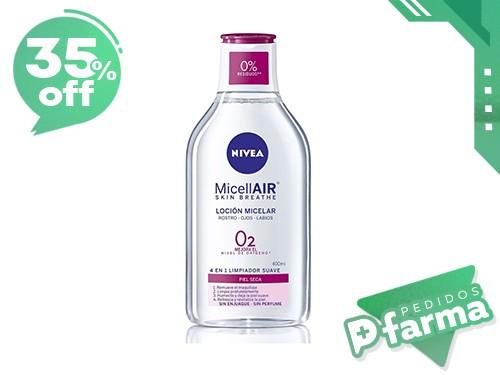 Nivea Facial Agua Micelar Skin Breathe O2 De 400ml