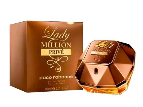 Perfume Lady Million Prive Paco Rabanne Edp x 80ml