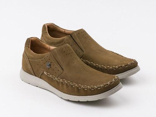 Zapato casual de cuero nobuck RINGO Elmo 01