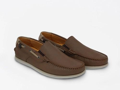 Zapato náutico de cuero RINGO Rio 01