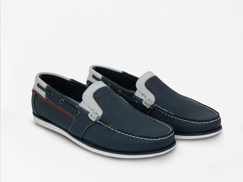 Zapato náutico de cuero RINGO Rio 03