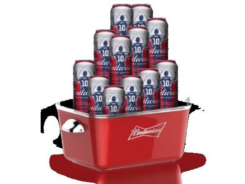 Pack 12 Cervezas Budweiser y Frapera