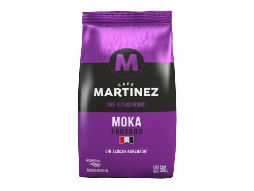 30% OFF Café molido Moka 500g CAFÉ MARTÍNEZ