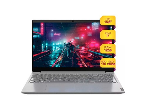 Notebook Lenovo Intel Core I7 12gb Ssd 240gb + 1tb Hdd W10