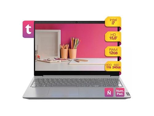 Notebook Lenovo Intel I7 12gb Ram 1tb Hdd + 240 Ssd 15.6 W10