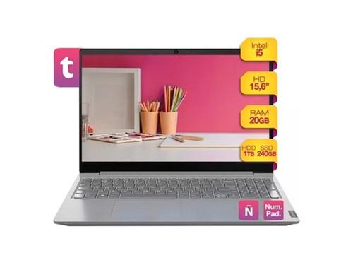 Notebook Lenovo Intel I5 Ram 20gb Ssd 240gb +1tb 15.6  Win10