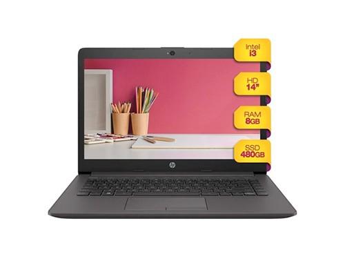 Notebook Hp 14p Intel Core I3 8gb Ram 480 Ssd Win 10 Sandisk