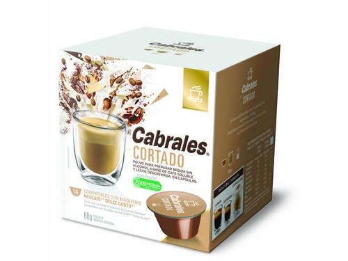 Cápsulas de café - Cortado. Caja x 14 unidades de 6 Grs. Cabrales