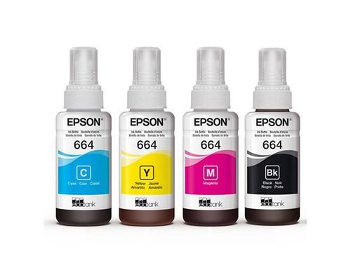 ¡Combo! Botellas de tinta Epson 664