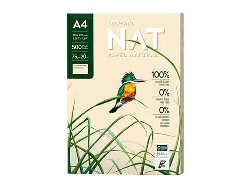 Resma Ledesma Nat - A4 75 g/m2 500 hojas