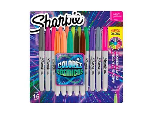 Sharpie Fine Colores Cósmicos x16