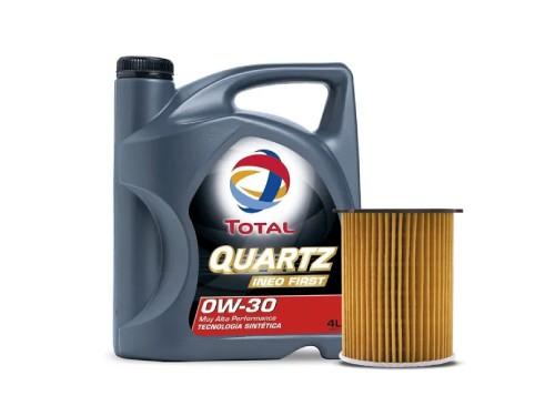 Cambio de aceite y filtros INEO First 0W 30 - Citroen