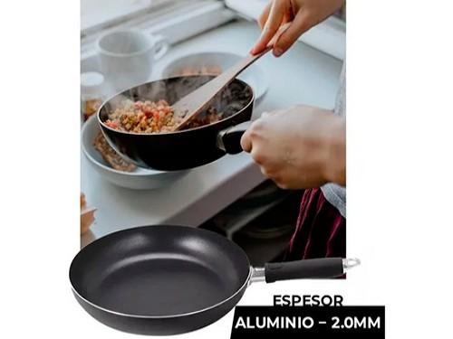 Sarten Antiadherente Hudson 24 Cm Aluminio Reforzado Teflon