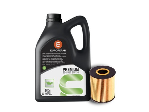 Cambio de aceite y filros Semi-sintético 10W 40 - Citroen