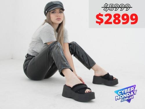 Sandalias de mujer Kore Negro Araquina