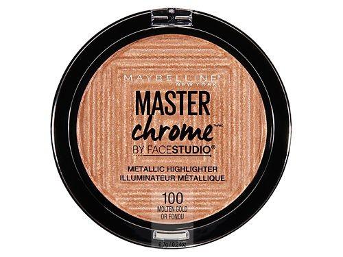Iluminador Master Chrome Metallic Highliter 24 ml  - Maybelline