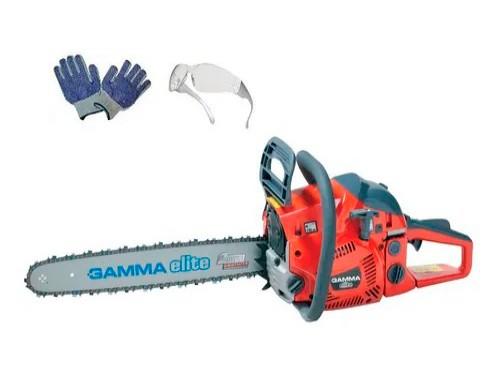 Motosierra Gamma 45cc Espada Con Piñon 2800rpm 2 Tiempos