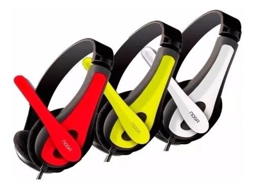 Auriculares Gamer Pc Noga Ngv-400 Con Microfono Regulable