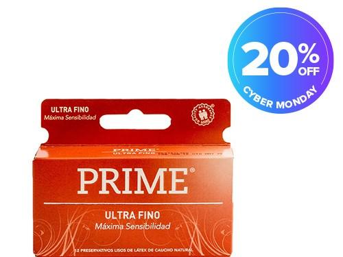 Preservativo de Látex Ultra Fino x 12 un
