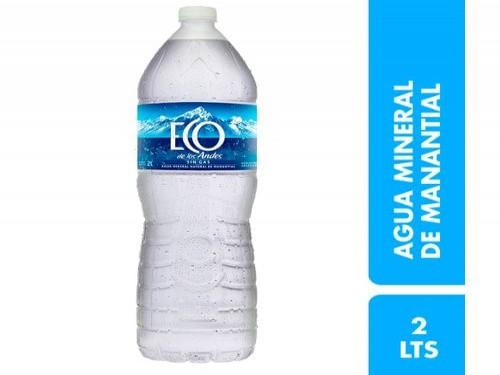 Agua Mineral Eco De Los Andes Sin Gas 2L