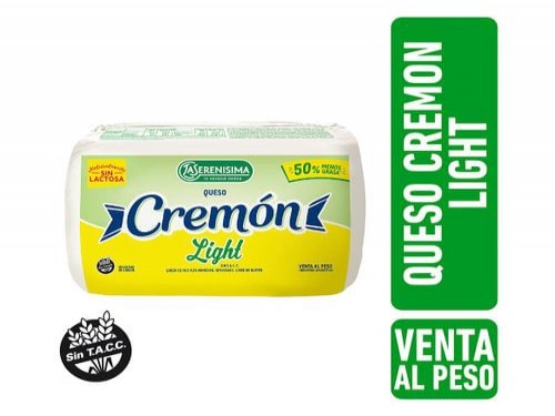 Queso Cremon Light La Serenisima Unidad Aprox 500Gr