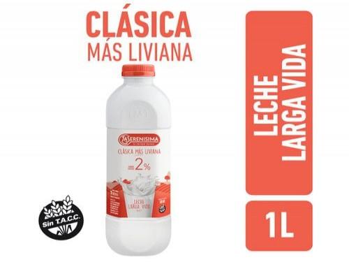 Leche Clasica Mas Liviana La Serenisima Larga Vida 1L