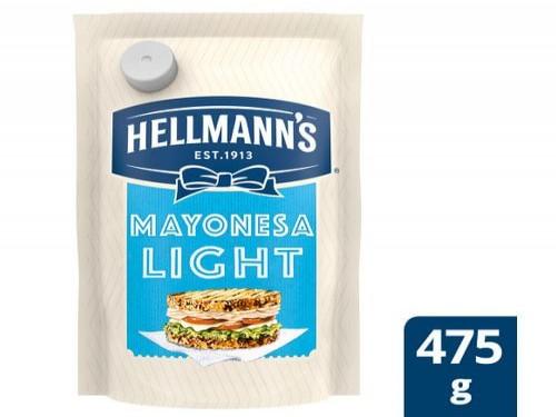 Mayonesa Hellmanns Light Doypack 475 Gr