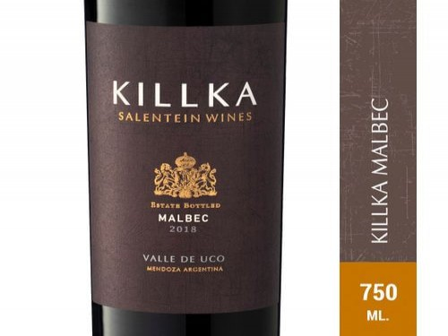 Vino Tinto Malbec Salentein Killka 750 Ml