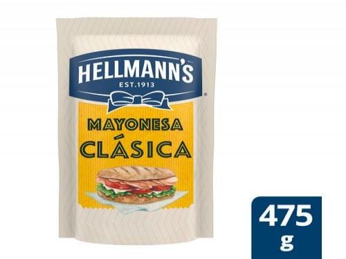 Mayonesa Hellmanns Clásica Doypack 475 Gr