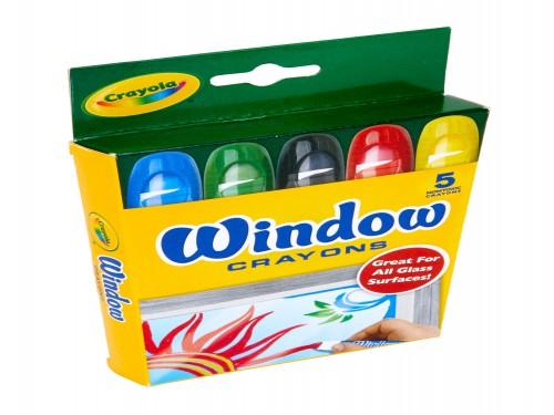 Crayones Crayola para Vidrio x 5 colores