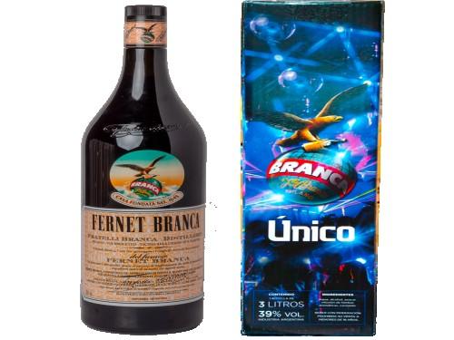 Fernet Branca Botellón 3 litros (envío gratis a todo el pais)